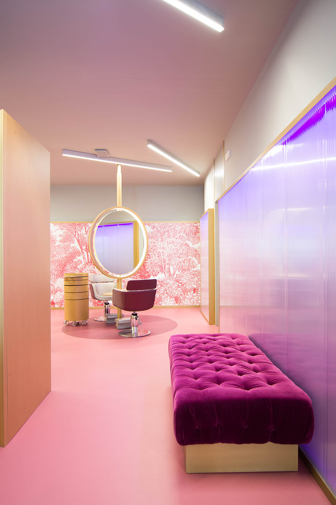 Frame The Hair Salon 2 0 Is Designed For An Experience